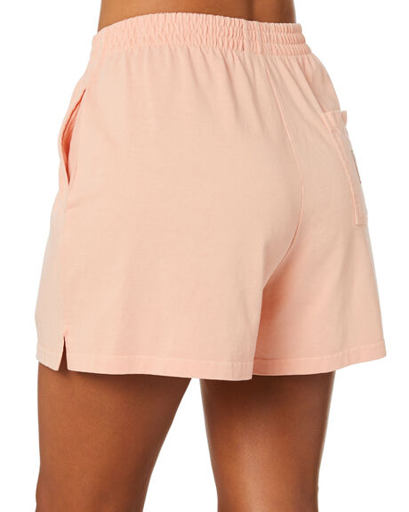 PEACH WOMENS CLOTHING STUSSY SHORTS - ST102609PCH