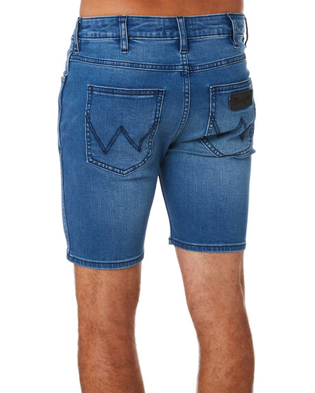 TWIST BLUE MENS CLOTHING WRANGLER SHORTS - W-099957-570TBLU