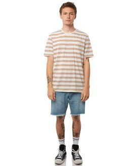 STONE MENS CLOTHING CAPTAIN FIN CO. TEES - CK174221STN