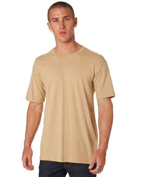 TAN MENS CLOTHING AS COLOUR TEES - 5001TAN