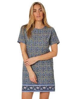 FARAWAY BORDER PRINT WOMENS CLOTHING SWELL DRESSES - S8203443FARAW