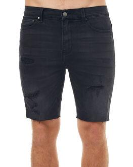 BLACK SMOKE MENS CLOTHING ZIGGY SHORTS - ZM-1236BKSMT