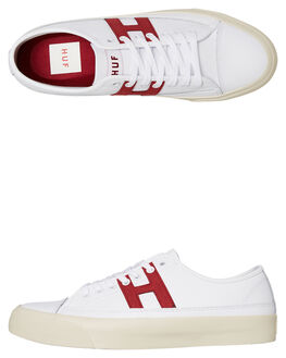 WHITE MENS FOOTWEAR HUF SNEAKERS - VC00086-WHT