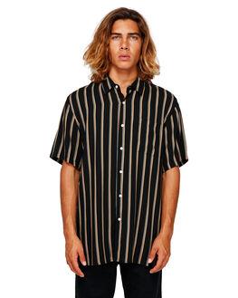 BLACK MENS CLOTHING BILLABONG SHIRTS - BB-9591216-BLK