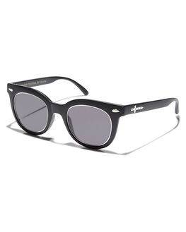 BLACK SILVER UNISEX ADULTS CRAP SUNGLASSES - 161R01GG-SILBLKSV