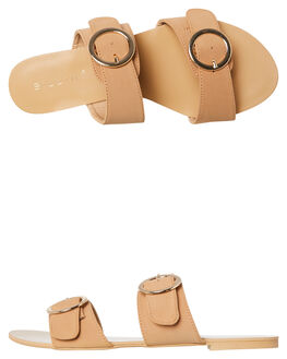 CAMEL NUBUCK WOMENS FOOTWEAR BILLINI FASHION SANDALS - S539CAMNU
