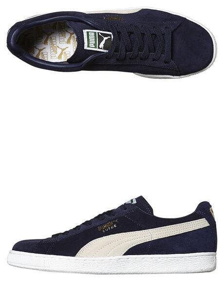 bb9b7e7e2c8a89 Puma Suede Classic Plus Shoe - Peacoat White
