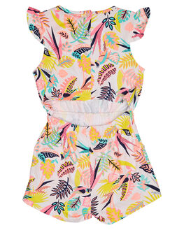 TROPICS PRINT KIDS TODDLER GIRLS EVES SISTER DRESSES + PLAYSUITS - 8021066PRNT