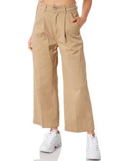 UNBASIC KHAKI WOMENS CLOTHING LEVI'S PANTS - 85890-0000