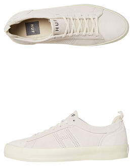 BONE MENS FOOTWEAR HUF SKATE SHOES - VC00054BONE