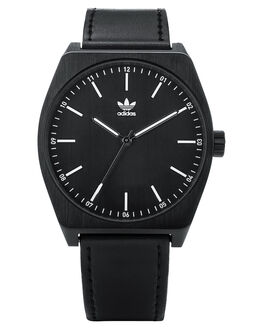 ALL BLACK WHITE MENS ACCESSORIES ADIDAS WATCHES - Z05-756-00ABKWH