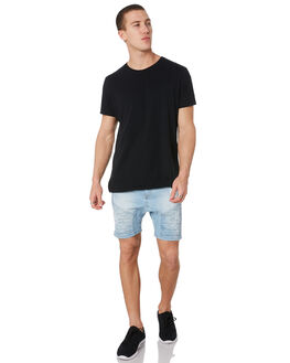MEXICAN BLUE MENS CLOTHING NENA AND PASADENA SHORTS - NPMDS002MXBL