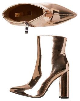 ROSE GOLD WOMENS FOOTWEAR BILLINI BOOTS - B873RSGLD