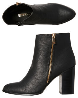 BLACK WOMENS FOOTWEAR BILLINI BOOTS - B830BLK