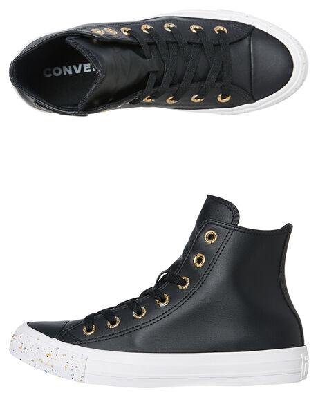 BLACK GOLD WOMENS FOOTWEAR CONVERSE SNEAKERS - 566724CBLK