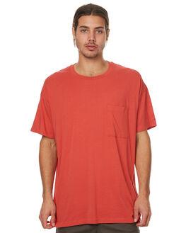 VINTAGE RED MENS CLOTHING ZANEROBE TEES - 122-TDKVRED