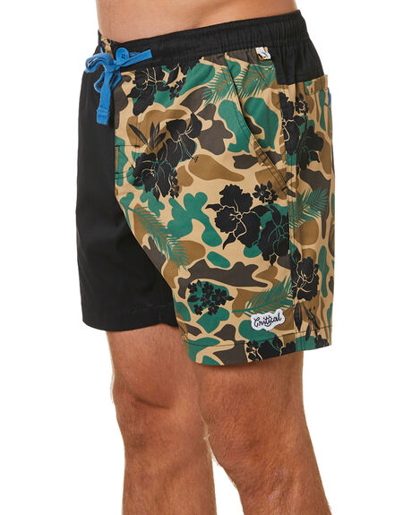 CAMO OUTLET MENS THE CRITICAL SLIDE SOCIETY BOARDSHORTS - SMUBS2002CMO