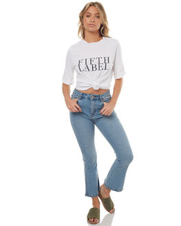BLUE PRINT WOMENS CLOTHING THE FIFTH LABEL JEANS - 41170903-5425