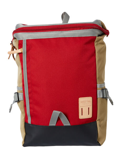 RED MENS ACCESSORIES HARVEST LABEL BAGS + BACKPACKS - HLO-0531-RED