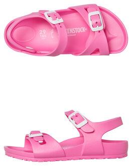 PINK KIDS GIRLS BIRKENSTOCK FASHION SANDALS - 126163GPINK