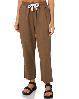 CHOCOLATE WOMENS CLOTHING NUDE LUCY PANTS - NU23276CHOC