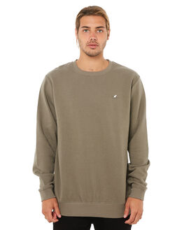 WASHED OLIVE MENS CLOTHING SWELL JUMPERS - S5183442WSHOL