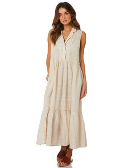 NEUTRAL OUTLET WOMENS FREE PEOPLE DRESSES - OB921653-1020