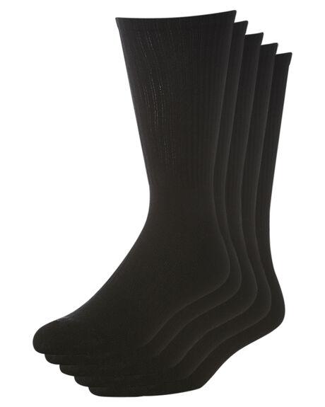 BLACK MENS CLOTHING SWELL SOCKS + UNDERWEAR - S51641694BLK