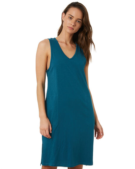 TEAL OUTLET WOMENS SWELL DRESSES - S8184441TEAL