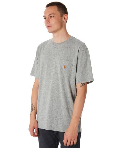 GREY MENS CLOTHING CARHARTT TEES - I022091V6