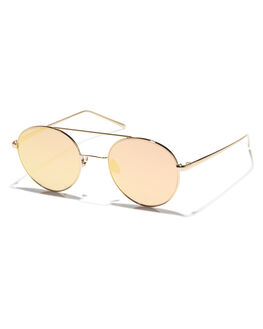 GOLD GOLD WOMENS ACCESSORIES OSCAR AND FRANK SUNGLASSES - 012GLD