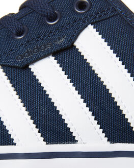 NAVY WHITE BLACK MENS FOOTWEAR ADIDAS SKATE SHOES - AQ8530NVY