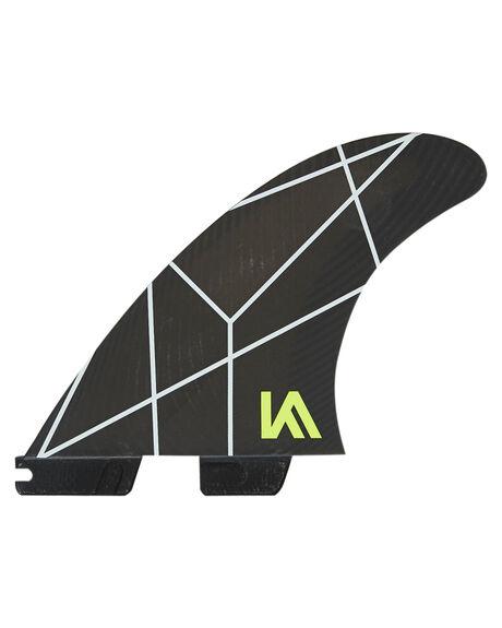 WHITE GREY BOARDSPORTS SURF FCS FINS - FKAS-PC03-TS-RWHIGR