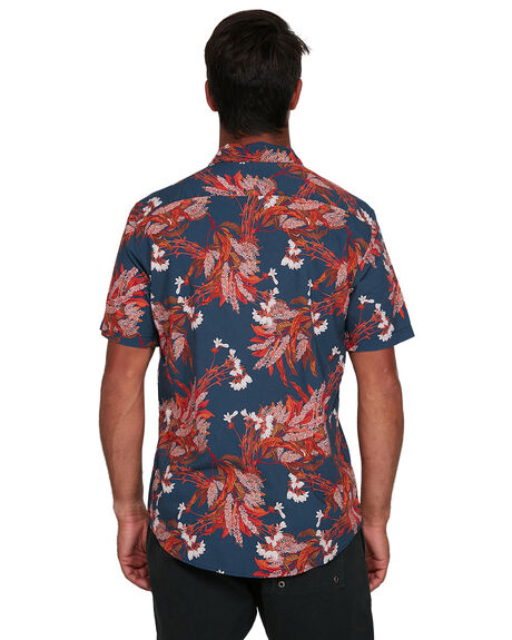 NAVY MENS CLOTHING RVCA SHIRTS - RV-R305187-N10