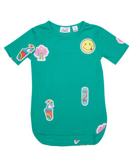 EMERALD KIDS TODDLER GIRLS KISSED BY RADICOOL DRESSES - KR0805EMRLD