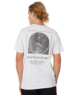 WHITE MENS CLOTHING VOLCOM TEES - A4341975WHT