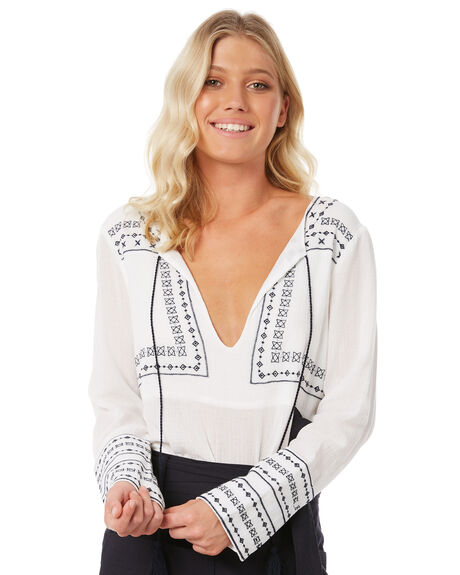 WHITE OUTLET WOMENS ELWOOD FASHION TOPS - W83307-653