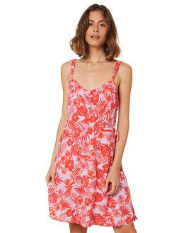 WAIKIKI PRINT WOMENS CLOTHING SASS DRESSES - 12960DWSSMULTI