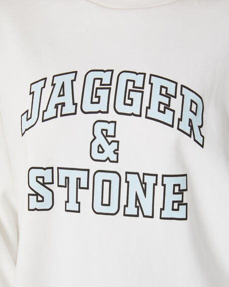 IVORY WOMENS CLOTHING JAGGER AND STONE JUMPERS - JS175-3IVY