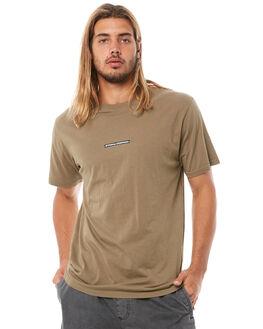 ARMY GREEN MENS CLOTHING THRILLS TEES - TH8-133FAGRN