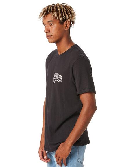 WORN BLACK MENS CLOTHING WRANGLER TEES - 901744082