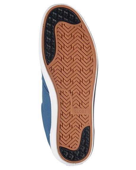 SLATE BLUE MENS FOOTWEAR GLOBE SKATE SHOES - GBWILLOW-13087