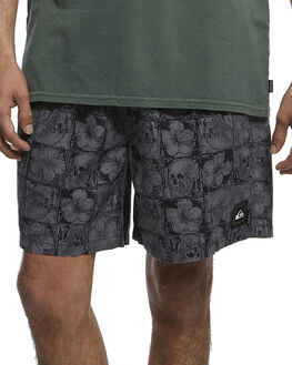IRON GATE FLORAL MENS CLOTHING QUIKSILVER SHORTS - EQYWS03616-KZM6