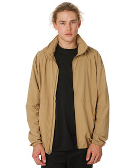 KHAKI MENS CLOTHING HERSCHEL SUPPLY CO JACKETS - 15026-00271KHAKI