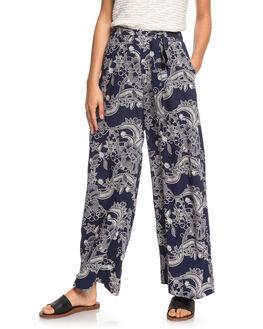 MOOD INDIGO LIGHT WOMENS CLOTHING ROXY PANTS - ERJNP03320-BSP9
