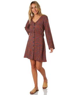 ZEBRA PRINT WOMENS CLOTHING ELWOOD DRESSES - W01708ZPNT