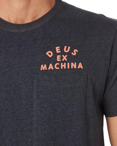 PHANTOM BLACK MENS CLOTHING DEUS EX MACHINA TEES - DMS91311BPHBLK