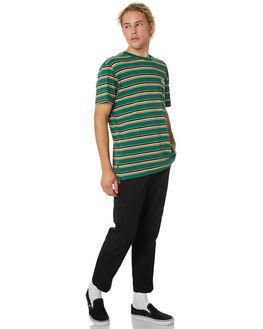 GREEN STRIPE MENS CLOTHING WRANGLER TEES - 901565LW0
