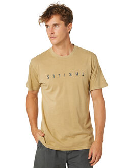 TAN MENS CLOTHING THRILLS TEES - TR8-106CTAN