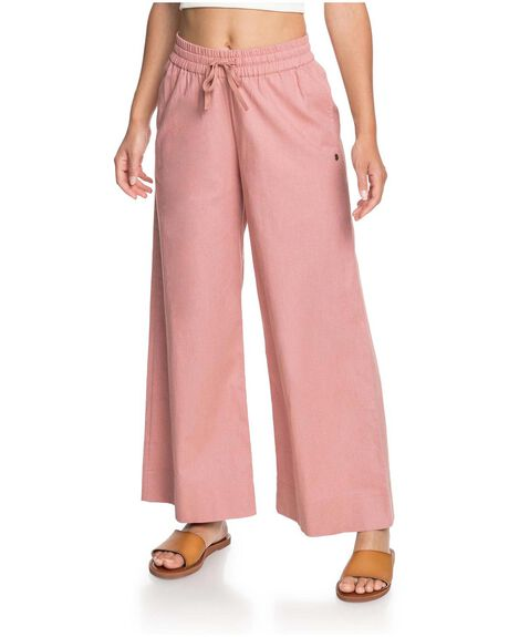 ASH ROSE WOMENS CLOTHING ROXY PANTS - ERJNP03337-MKM0